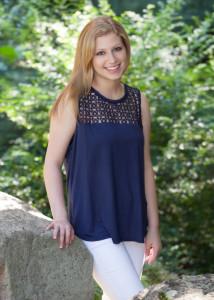 Jessica Bachner is the Weber School's 2016 salutatorian.