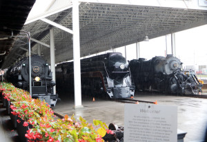 Photo by Jeffrey Orenstein Three steam locomotives built in Roanoke are housed at the Virginia Museum of Transportation. The one in the center, the Spirit of Roanoke, still pulls trains for excursions.