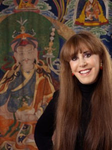 Alice Kandell has been involved with Buddhist art since she was in college and a friend fell in love with the king of Sikkim. (Photo by Bigelow Taylor)