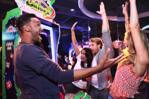Dave & Buster's can accommodate 20 to 2,000 for games that will make them scream and shout.