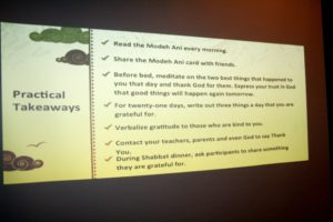 """The """"Waking Up to Life"""" seminar concludes with some suggested takeaways."""