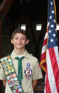Achieving Eagle Scout rank at 14 gives Ethan Hartz three more years to mentor fellow Scouts and pile up more merit badges.