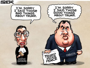 Cartoon by Steve Sack, The Minneapolis Star Tribune