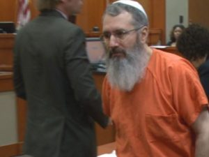 Hemy Neuman is sporting a new look at his retrial.