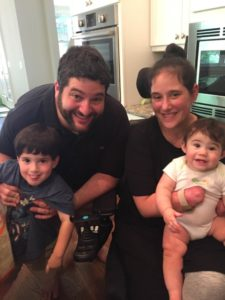 Elizabeth Zweigel is home again with husband Scott, son Carson, who'll be 4 in October, and daughter Mia, 9 months.