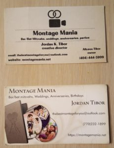 Not many 10-year-olds have their own business cards.