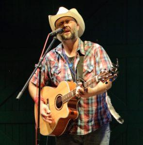 Joe Buchanan performs at LimmudFest Sunday night.