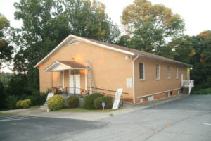 A building that served two churches is now Congregation Shaarei Shamayim.