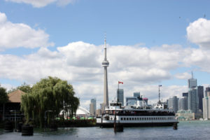 Photo by Tourism Toronto Toronto's waterfront is a lively place in the summer.