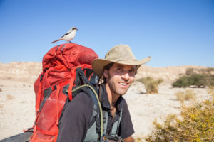 Udi Goren treks the Israel National Trail in 2014. Goren, who interned with acclaimed Israeli photographer Ziv Koren earlier in his career, had to overcome a hip injury and minor aches and pains while making the journey with a travel partner.