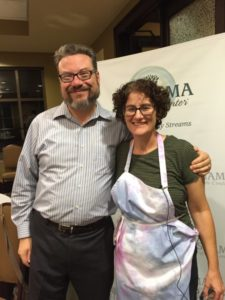 Photo by Sue Chase Rabbis Michael Bernstein and Pamela Gottfried, shown at a self-exploration event Sept. 25, will receive SOJOURN's Michael Jay Kinsler Rainmaker Award on Feb. 25.