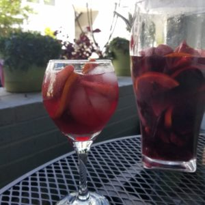Apple Bourbon Sangria