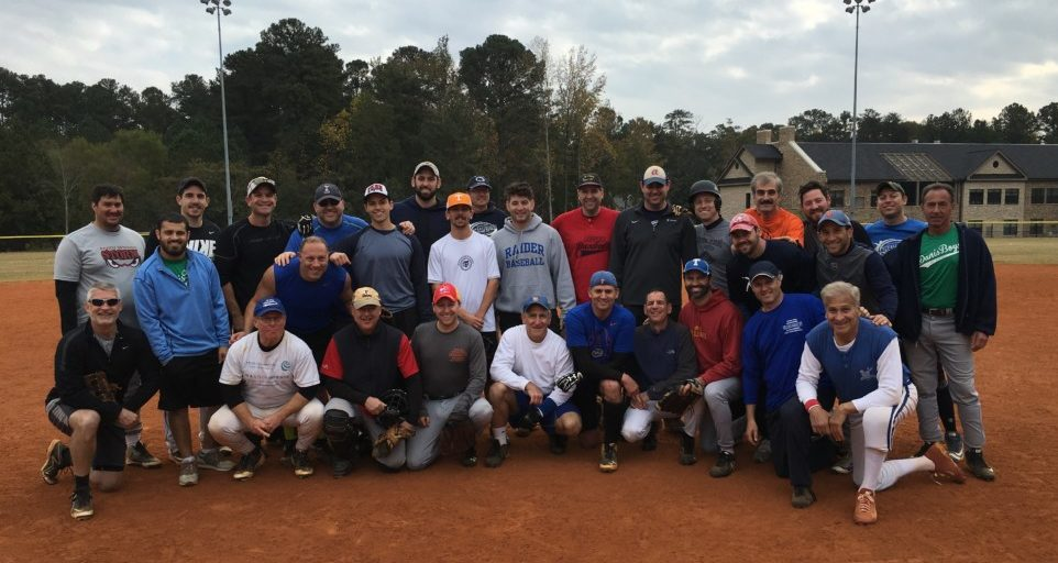 The fall Marcus JCC men's modified fast-pitch all-stars.
