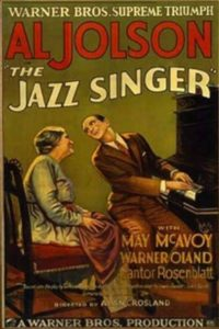"The moment in ""The Jazz Singer"" when Jack Robins (Al Jolson) sings and speaks to his mom (Eugenie Besserer) is iconic."