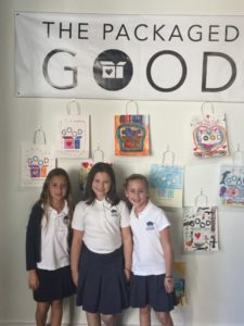 Davis Academy students say the Packaged Good helps them put into action what they learn at school about mitzvot.