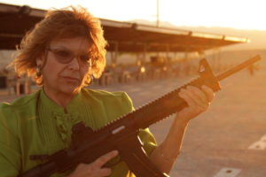 """Yes, Shelley Rubin has a gun, but that's not the point of """"Mother With a Gun,"""" screening Feb. 1, 4, 8 and 9."""