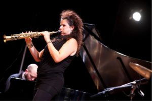 Photo courtesy of Zeal NYC Israeli clarinet and saxophone virtuoso Anat Cohen performs at the Miller Theater in New York.