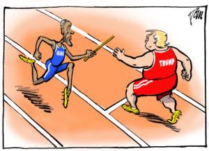 Cartoon by Tom Janssen, The Netherlands