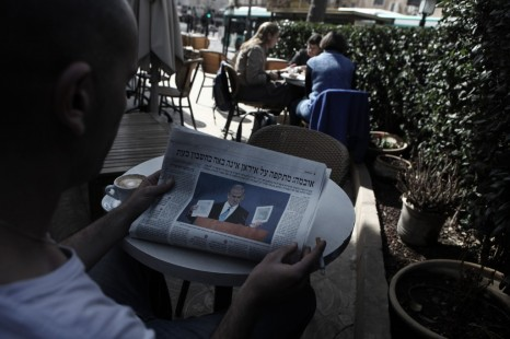 'If you're not scared, then you're doing it wrong.' Reading the Hebrew headlines should become part of your routine. (photo credit: Kobi Gideon/Flash90)