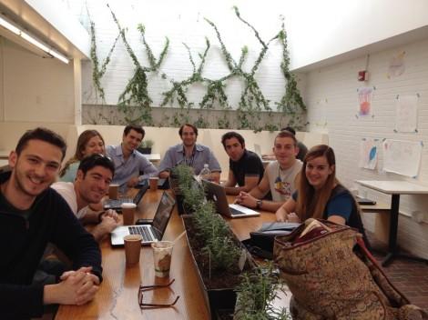 The Harvard Israel Conference organizing group (photo courtesy)