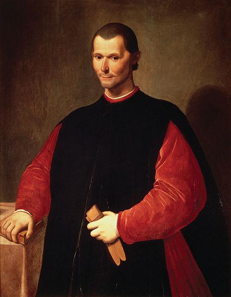 Portrait of Niccolò Machiavelli by Santi di Tito, late 16th century