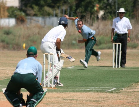 Cricket in Israel (photo credit: courtesy)