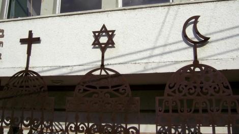 The Beit Hagefen Arab-Jewish Center in Haifa (photo credit: CC BY zeevveez, Flickr)