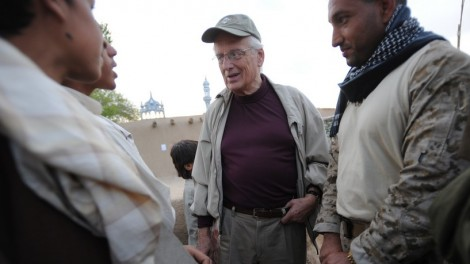 US Representative Bill Pascrell, Jr. (center) talks with locals during a visit to Afghanistan (photo credit: CC BY-ND US Embassy Kabul Afghanistan, Flickr)