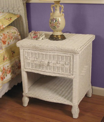 Because nothing says nice Jewish girl like a white wicker nightstand (photo credit: CC BY SocialWicker, Flickr)