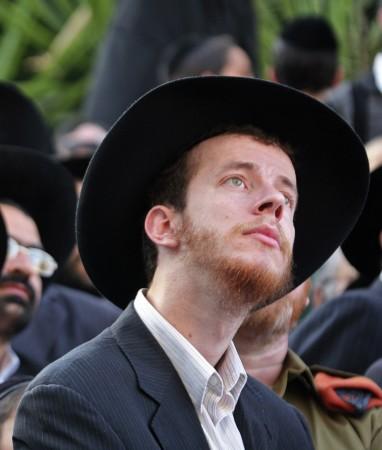 'Fuzz with Jews' or 'Jews with fuzz?' (illustrative photo: Matanya Tausig/Flash90)
