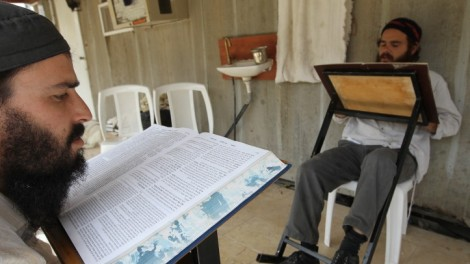 Studying Talmud. Felice doesn't know about any Oral Law. (photo cxredit: Nati Shohat/Flash90)