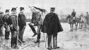 The Degradation of Captain Alfred Dreyfus, January 5, 1895