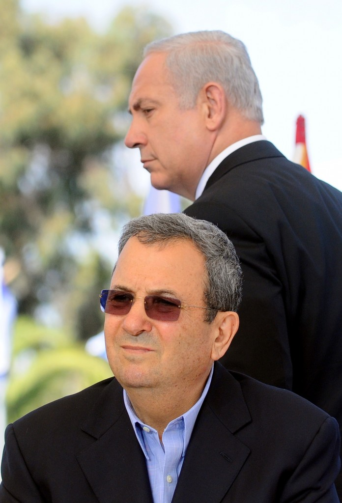 A reckless determination to strike Iran. Prime Minister Netanyahu and Defense Minister Barak (photo credit: Yossi Zeliger/Flash90)