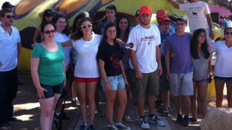 ISI at sheltered playground in Sderot (photo credit: courtesy)