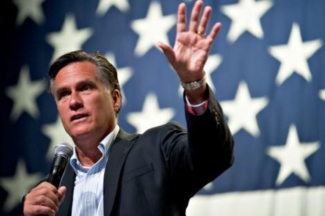 Hiding his light under a barrel. Mitt Romney