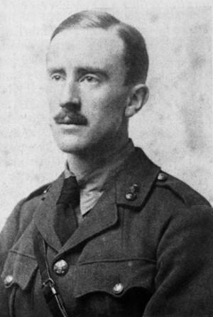 J.R.R. Tolkien, c.1916 (PD-1923)