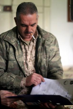 FSA Commander Jamil Radoon (photo: Eliyahu Kamisher)