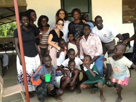 Girls center in South Sudan (photo: IsraAid)