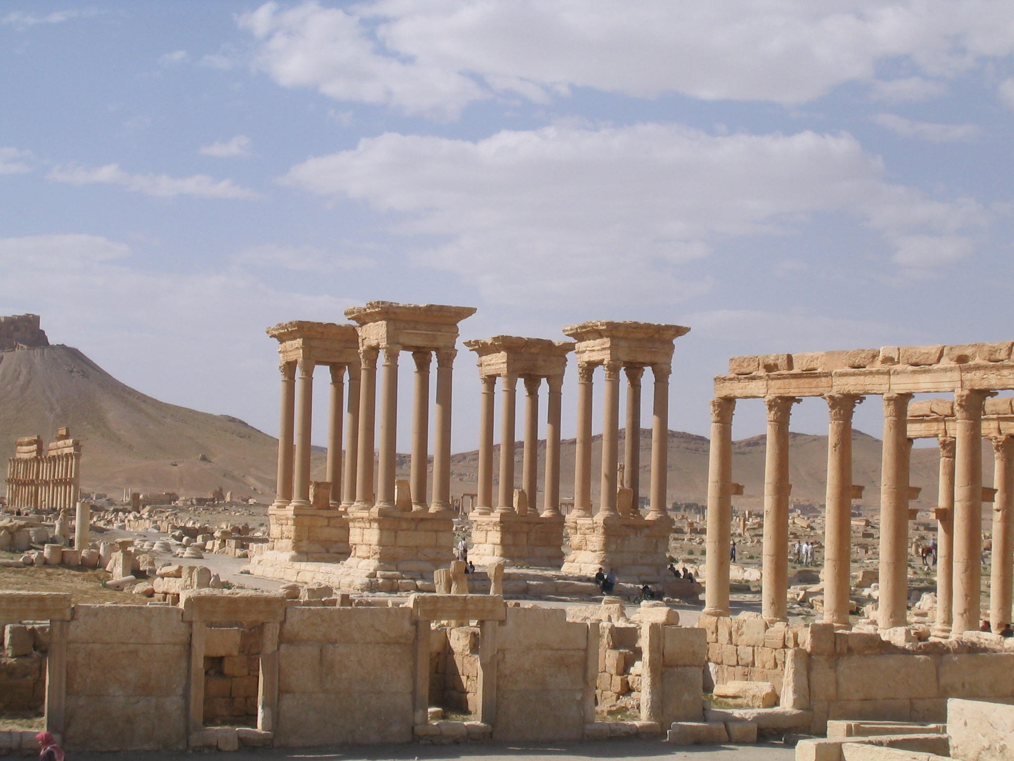 Roundabout, Palmyra, Syria, 2004
