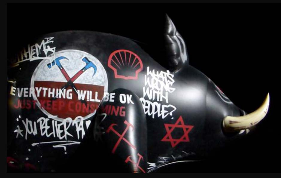 Roger Waters Concert Pig