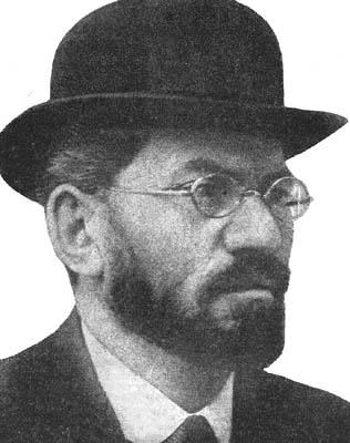 Menahem Mendel Beilis (1874-1934), a Ukrainian Jew wrongly accused of murder