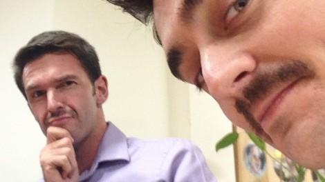 Alex McCauley and Ben Rhee - Movember brothers