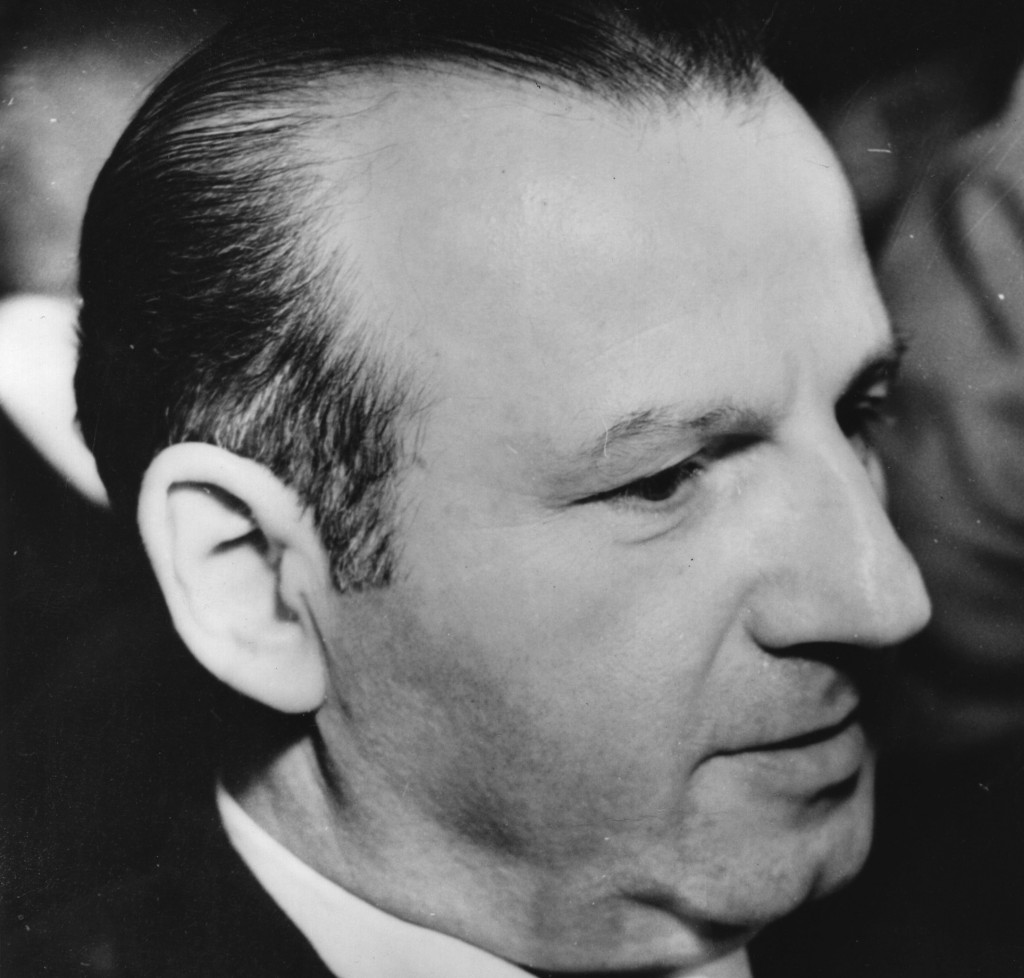 Jack Ruby, the Dallas nightclub proprietor who murdered Lee Harvey Oswald in 1963, was born Jacob Rubinstein in 1911. (Central Press/Getty Images)