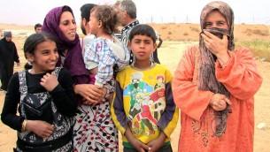 Syrian refugees in Mafraq. (photo credit: Debra Kamin)