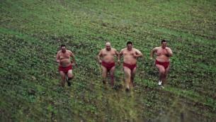 Dvir Bendak as a sumo wrestler