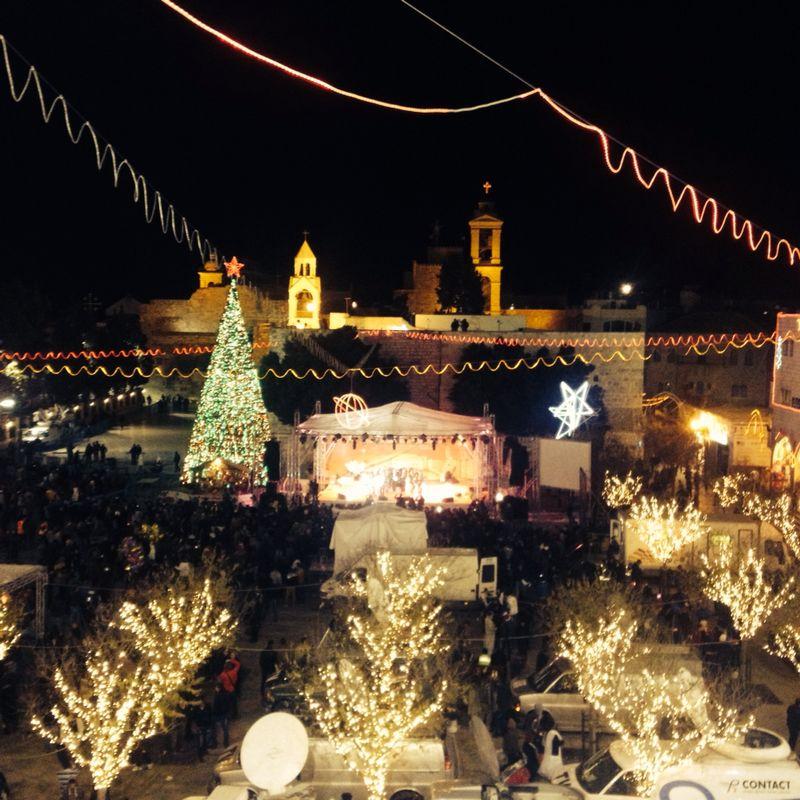 Bethlehem from above (Photo credit: Hannah Fink)