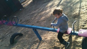 It takes two to seesaw