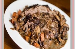 Beef Brisket with Black Pepper and Vegetables