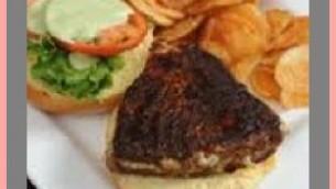Blackened Tuna and Salad Sandwich