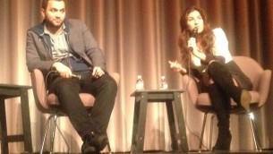 Left-Producer Karim Amer, director Jehane Noujaim